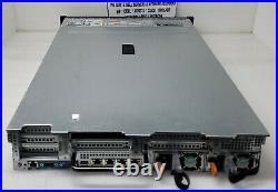 Dell R730 Server with 2x 4-Core 3GHz E5-2623v3, 64GB RAM, 2x 300GB 10K, 16x 2.5-Bay