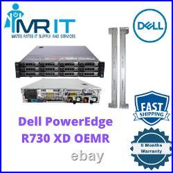 Dell R730XD 2 x Xeon E5-2640 v3@2.6GHz 16 CORE 256 GB RAM Rails