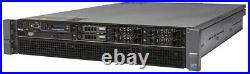 Dell R810 4 x E7-4870 10Core 2.40GHz CPU 256GB RAM H700 512MB Rail Kit Bezel
