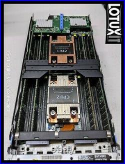 Dell VRTX with 4x M630 6x E5-2660V3 2X E5-2680V3 512GB RAM PassThru Bezel