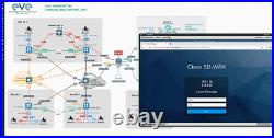 EVE-NG Server + Cisco CML-2 Network Lab Dell R620 128GB CCNP CCIE Viptela SD-WAN