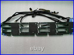 HDD 12 BAY BACKPLANE 3.5 LFF SAS SATA DELL POWEREDGE R720xd SERVER PGXHP