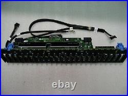 HDD 24 BAY BACKPLANE 2.5 SFF SAS SATA DELL POWEREDGE R730xd SERVER DTCVP PGP6R