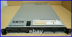 New Dell PowerEdge R630 8x 2.5 Bay 1U Server Chassis + Motherboard + Backpl CTO