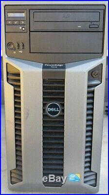 Poweredge T610 Server E03S 2x2.4GHZ E5530, 4GB Ram, No HDD 15k 2x Pwr supplies